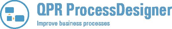 QPR ProcessDesigner icon & name & slogan